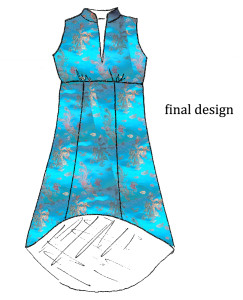 Based on the fitting sample & fabric choices, we will finalize which design you'd love to wear and the pattern for your garment will be completed.